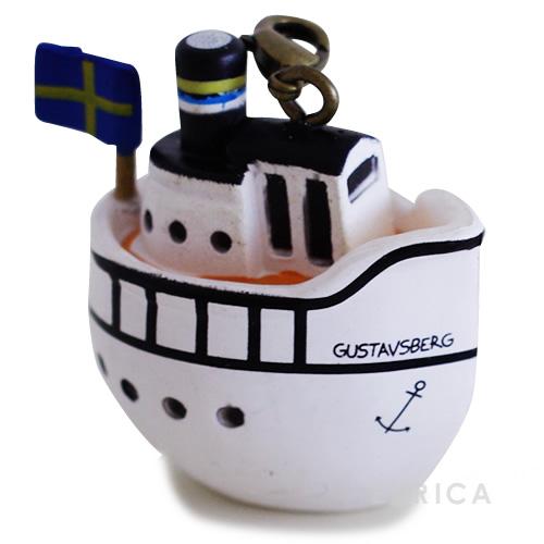 Lisa Larson キーホルダー・ボート