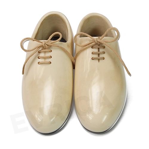 little dress shoes(リトルドレスシューズ) plain toe white