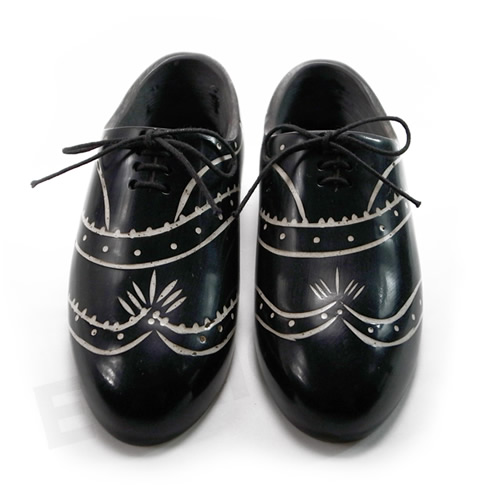 little dress shoes(リトルドレスシューズ) wing tip black