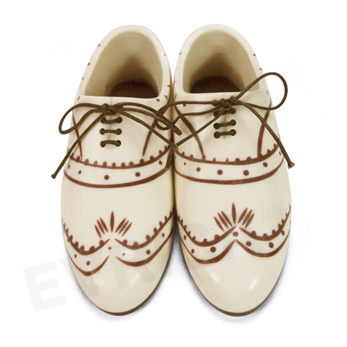 little dress shoes(リトルドレスシューズ) wing tip white
