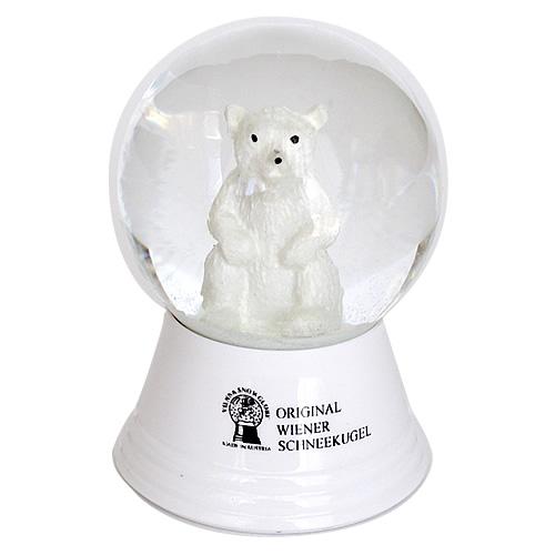 Vienna Snowglobe 4.5cm 北極グマ