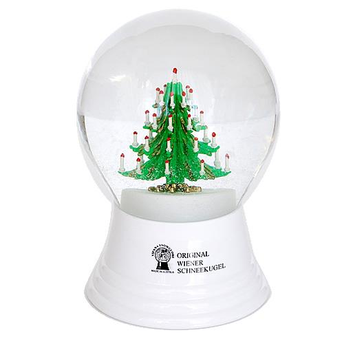 Vienna Snowglobe 8cm クリスマスツリー
