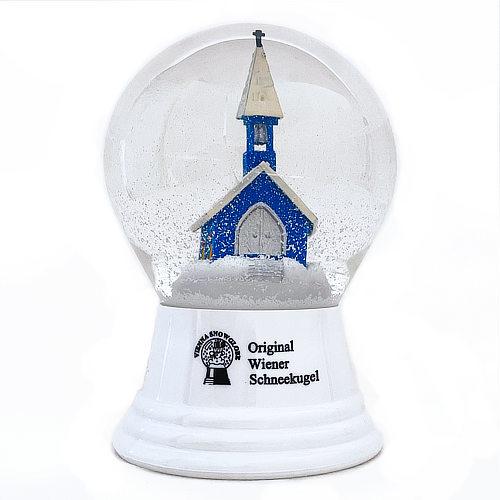 Vienna Snowglobe 8cm 雪の教会