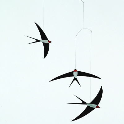 FLENSTED MOBILES Flying swallows(飛び回るつばめたち)