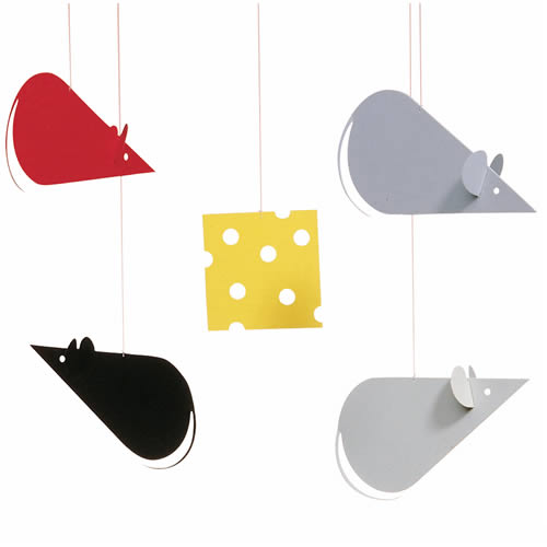 FLENSTED MOBILES Cheese mice(チーズマウス)