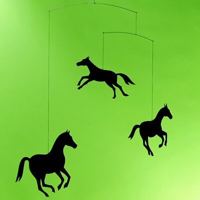 FLENSTED MOBILES Horse mobile(馬のモビール)