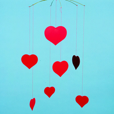 FLENSTED MOBILES Happy Hearts(ハッピーハート)