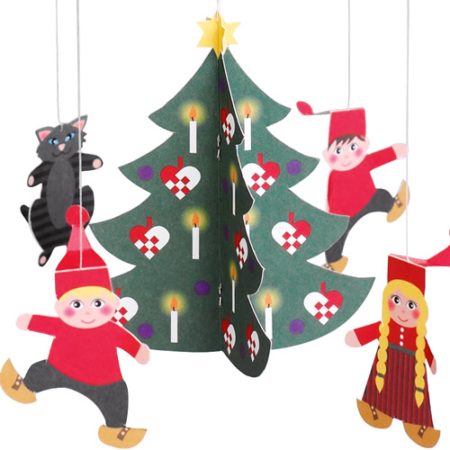 FLENSTED MOBILES Pixy Family(小人の家族)