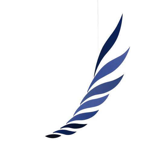 FLENSTED MOBILES Rhythm 70cm Blue (リズム ブルー)