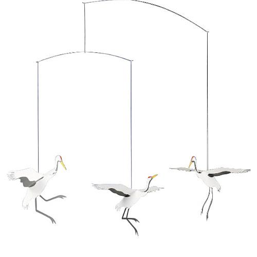 FLENSTED MOBILES Crane Dance(鶴の舞)