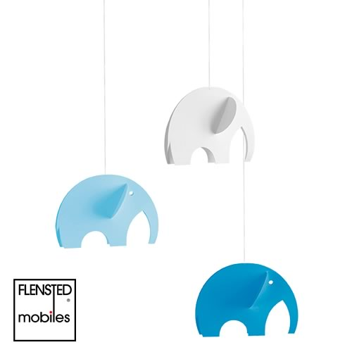 FLENSTED MOBILES Olephants blue(オレファント ブルー)