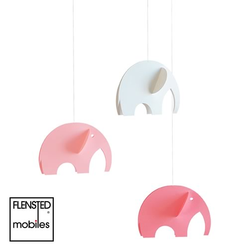 FLENSTED MOBILES Olephants pink(オレファント ピンク)